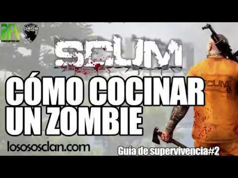 SCUM: COCINAR ZOMBIS - GUÍA SUPERVIVENCIA #2