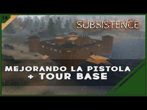 "SUBSISTENCE #58 ""MEJORANDO LA PISTOLA + TOUR BASE"" | GAMEPLAY ESPAÑOL"