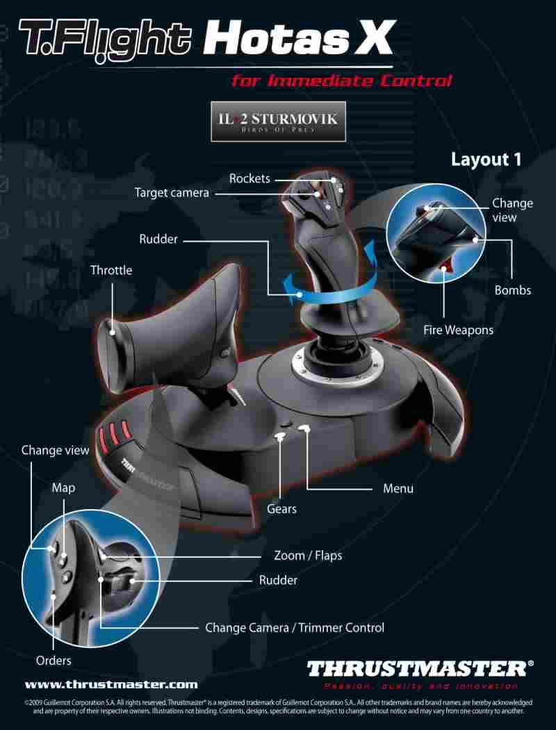 Thrustmaster T Flight HOTAS X 3